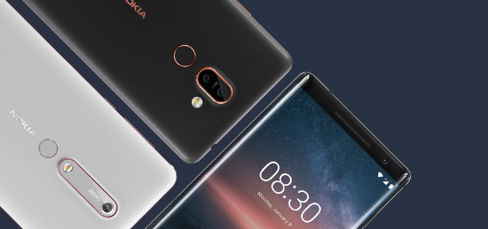 Nieuwe Nokia 6 (2018), 7+ en 8 Sirocco beschikbaar voor pre-order met gratis Chromecast