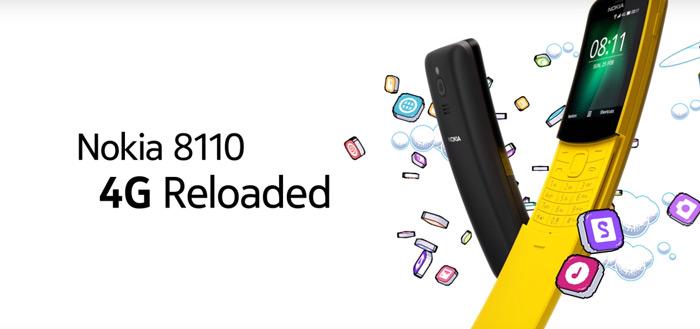 Nokia 8110 4G aangekondigd: nostalgie in nieuw jasje