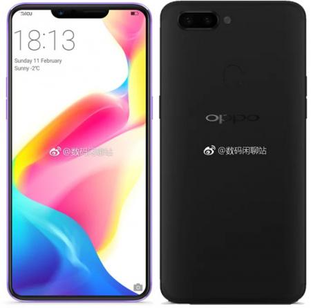 Oppo R15 Oneplus 6 zwart