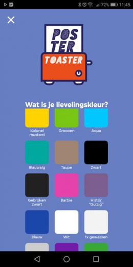 PosterToaster app