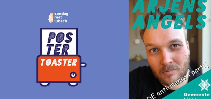 Arjen Lubach lanceert PosterToaster app: maak je eigen verkiezingsposter