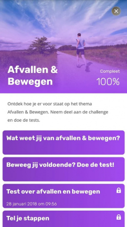 RTL Gezondheidstest app