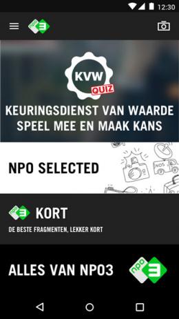 NPO3 app