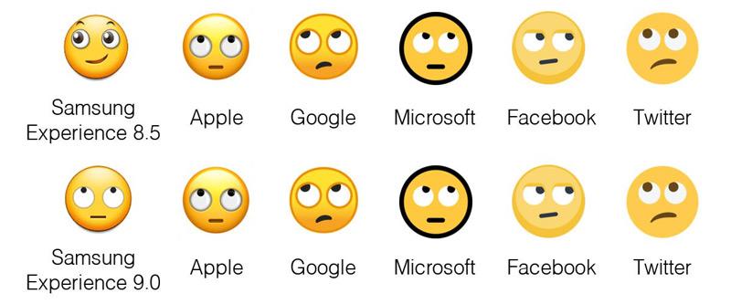 Samsung Experience 8.5 - 9.0 emoji