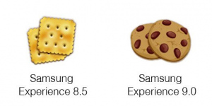 Samsung Experience 8.5 - 9.0 koek emoji