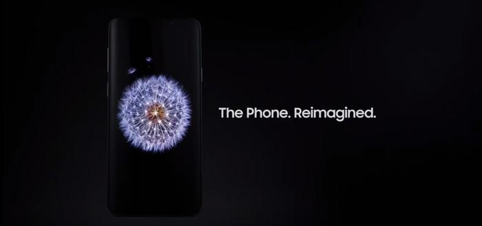 Samsung werkt aan in-display front-camera voor nieuwe smartphone