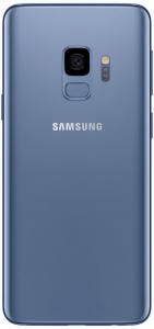 Samsung Galaxy S9 coral blue achter