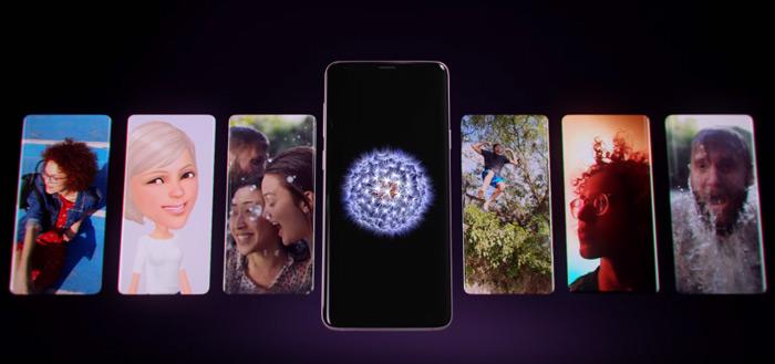 Samsung deelt groot aantal filmpjes over Samsung Galaxy S9