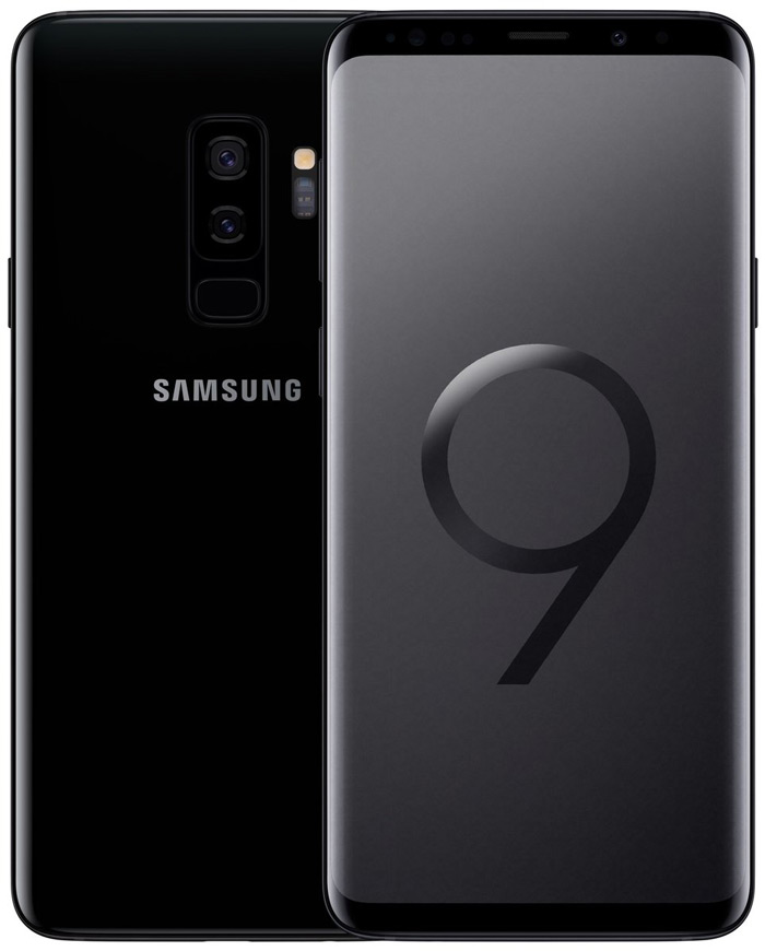 Samsung Galaxy S9+ Plus Midnight Black