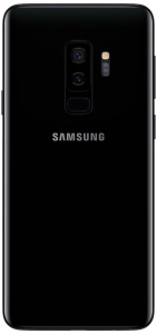 Samsung Galaxy S9+ Plus Midnight Black achter
