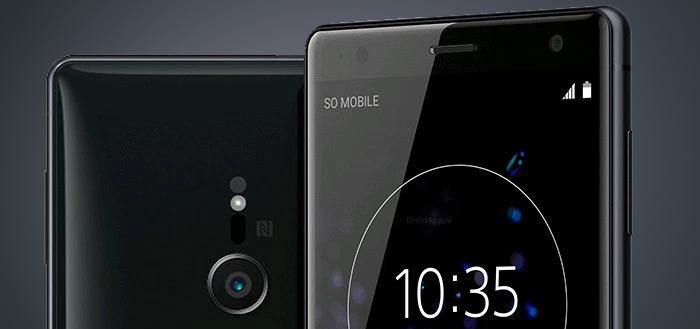 Sony Xperia XZ2 (Compact) gelekt door Evan Blass; met nieuw design