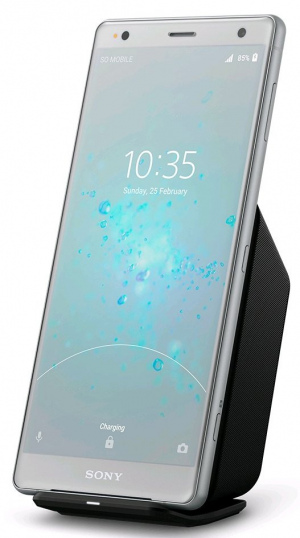 Sony Xperia XZ2 wireless charging