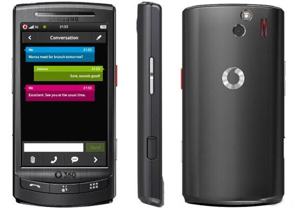 Vodafone 360 H1 Samsung