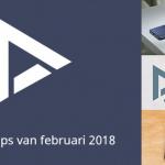 De 9 beste apps van februari 2018 (+ het belangrijkste nieuws)