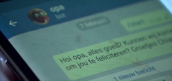 'AppeenOma' apparaat verandert appjes in brieven, speciaal voor ouderen