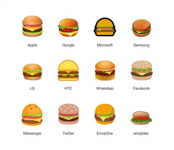 verschillende soorten emoji