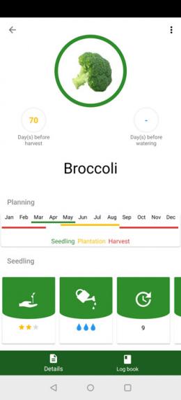 Garden Organizer app