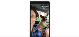 Google Duo voicemail header