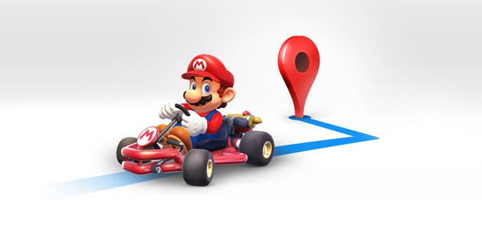 Google Maps: Mario Kart wordt toegevoegd aan navigatie