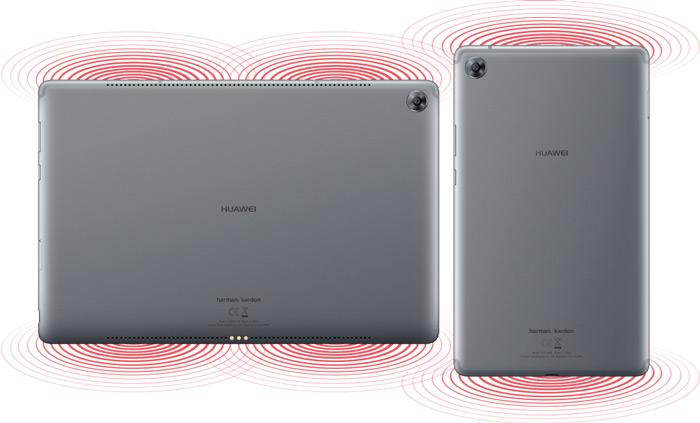 Huawei MediaPad M5 achterkant