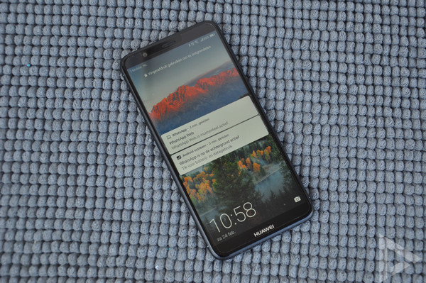 Huawei P Smart vergrendelscherm
