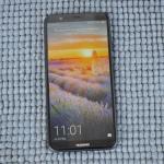 Huawei P Smart lockscreen