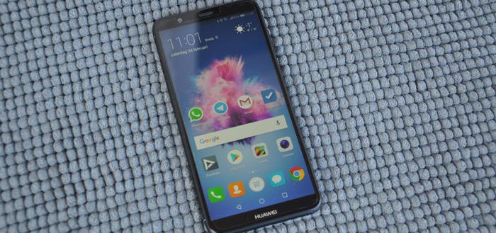 Eerste generatie Huawei P Smart krijgt beveiligingsupdate december