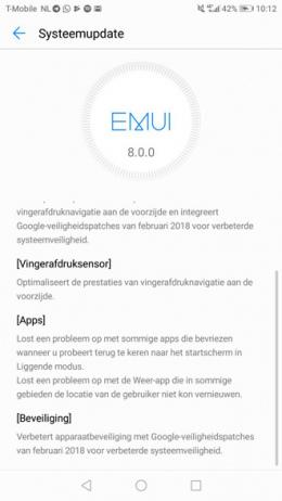 Huawei p10 Android 8.0 Oreo 3
