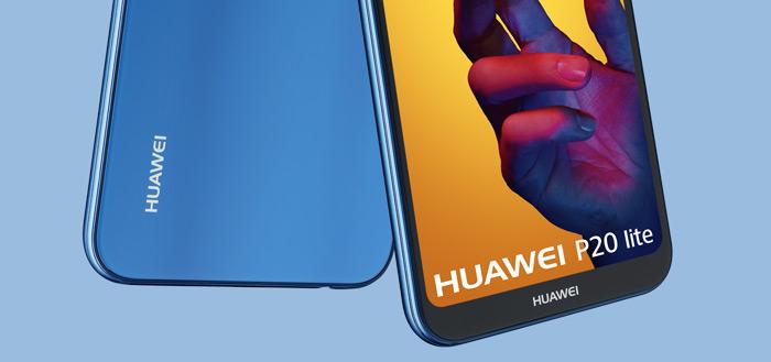 Huawei P20 Lite vanaf vandaag verkrijgbaar in Nederland