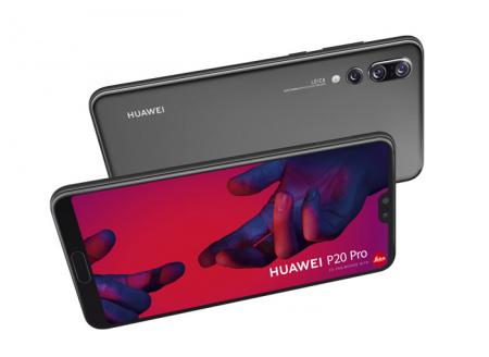 Huawei P20 Pro slow-motion