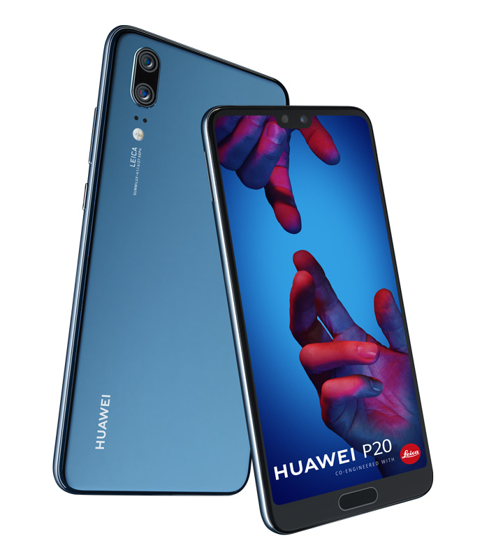 Huawei P20 Blauw