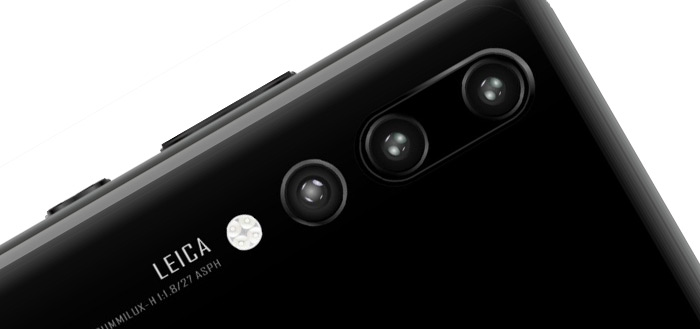 Huawei P20-serie opnieuw uitgelekt: prijzen en nieuwe foto's opgedoken
