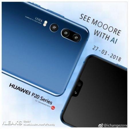 Huawei P20 teaser fanmade