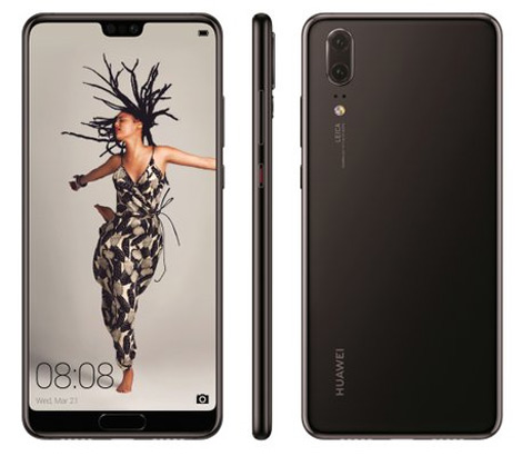 Huawei P20 evleaks