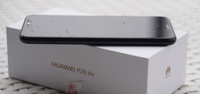 Huawei P20 Lite verschenen in hands-on (foto's en video)