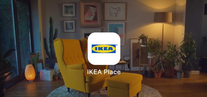 IKEA Place voor Android: plaats de IKEA-meubels virtueel in je woonkamer