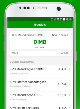 KPN prepaid app
