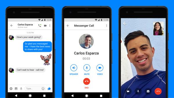 Messenger Lite videobellen