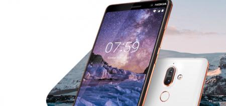 Download de nieuwe Nokia 7+ wallpapers voor je eigen toestel