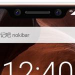 Nokia X6 met notch uitgelekt op renders