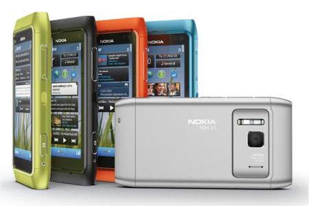 Nokia N8 kleuren
