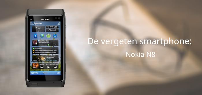 De vergeten smartphone: Nokia N8