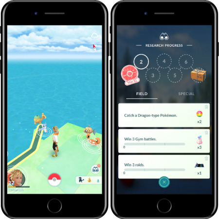 Pokémon Go missies