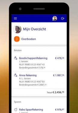 Rabo Mobiel Bankieren QR-code