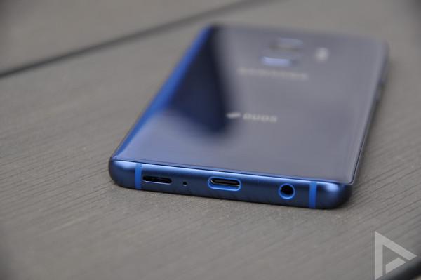 Samsung Galaxy S9 usb