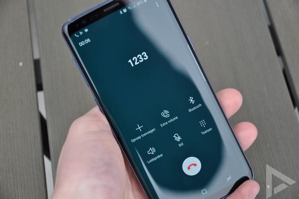Samsung Galaxy S9 bellen