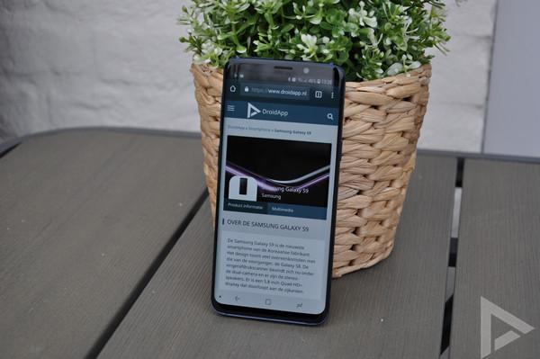 Samsung Galaxy S9 internet