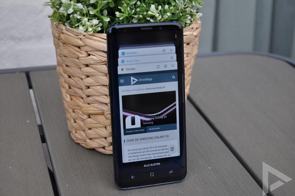 Samsung Galaxy S9 taakbeheer