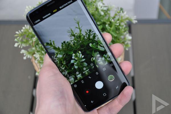 Samsung Galaxy S9 pro camera