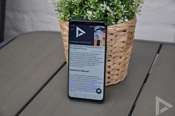 TELEGRAAF COOLBLUE SAMSUNG S9 2 EURO